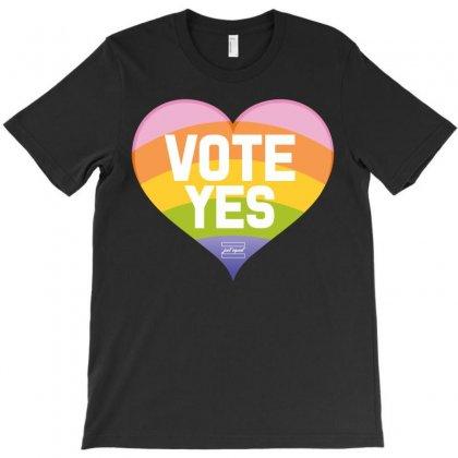 Vote Yes-australia Marriage Equality T-shirt Designed By Designbysebastian