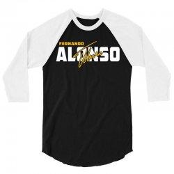 Fernando Alonso 3/4 Sleeve Shirt   Artistshot