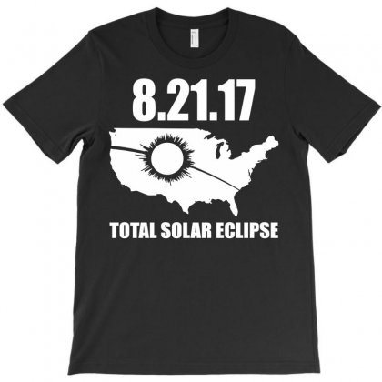 Total Solar Eclipse 2017 T-shirt Designed By Secreet