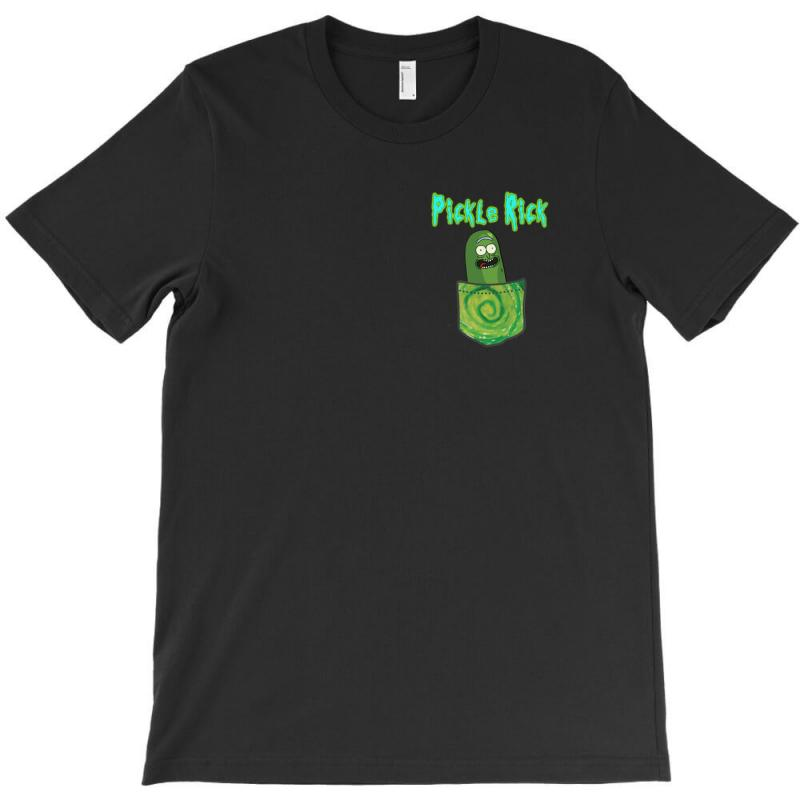 f82c7023f00 Custom Pickle Rick T-shirt By Killakam - Artistshot