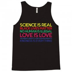 Anti Trump Science is Real Black Lives Matter T shirt Tank Top | Artistshot