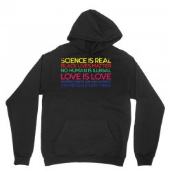 Anti Trump Science is Real Black Lives Matter T shirt Unisex Hoodie | Artistshot