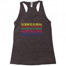Anti Trump Science is Real Black Lives Matter T shirt Racerback Tank   Artistshot