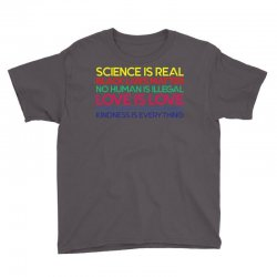 Anti Trump Science is Real Black Lives Matter T shirt Youth Tee | Artistshot