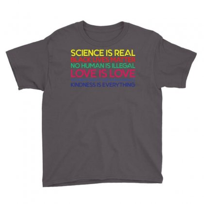 Anti Trump Science Is Real Black Lives Matter T Shirt Youth Tee Designed By Designbysebastian
