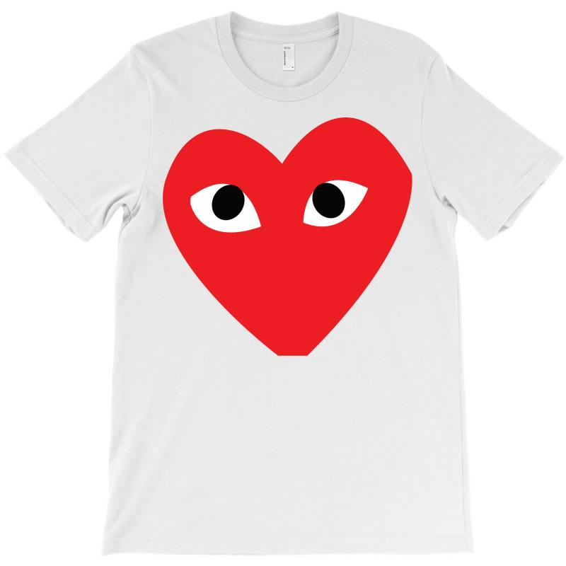 Comme Des Garcons Play T-shirt   Artistshot