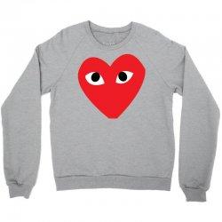 Comme Des Garcons Play Crewneck Sweatshirt | Artistshot