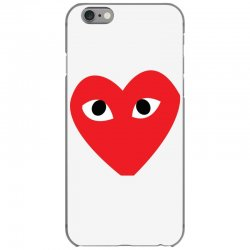 Comme Des Garcons Play iPhone 6/6s Case   Artistshot