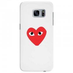 Comme Des Garcons Play Samsung Galaxy S7 Edge Case   Artistshot