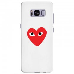 Comme Des Garcons Play Samsung Galaxy S8 Plus Case   Artistshot