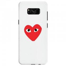 Comme Des Garcons Play Samsung Galaxy S8 Case   Artistshot