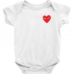 Comme Des Garcons Play Baby Bodysuit | Artistshot