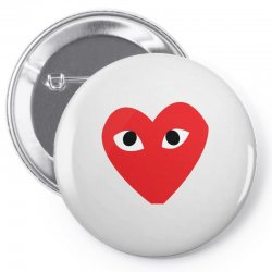 Comme Des Garcons Play Pin-back button | Artistshot