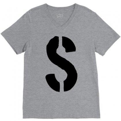 Jughead's S Shirt (riverdale) V-neck Tee Designed By Sabriacar