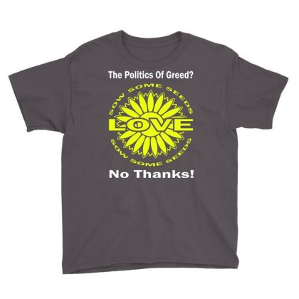 Political The 80's 60's Hippy Anti Capitalism Youth Tee Designed By Secreet