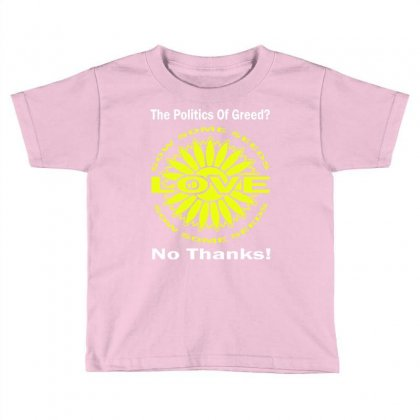 Political The 80's 60's Hippy Anti Capitalism Toddler T-shirt Designed By Secreet