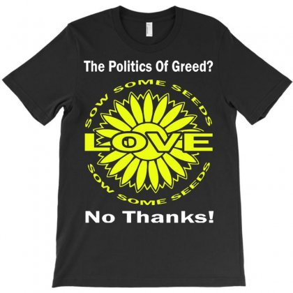 Political The 80's 60's Hippy Anti Capitalism T-shirt Designed By Secreet