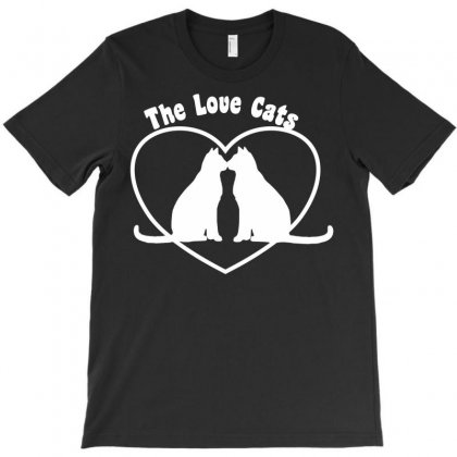 Valentine's Day Love Cats T-shirt Designed By Secreet