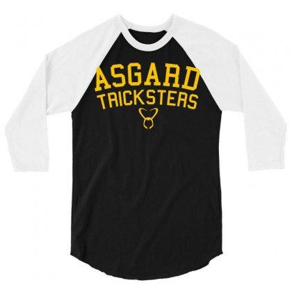 Asgard Tricksters 3/4 Sleeve Shirt Designed By Mdk Art