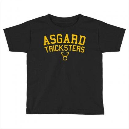 Asgard Tricksters Toddler T-shirt Designed By Mdk Art