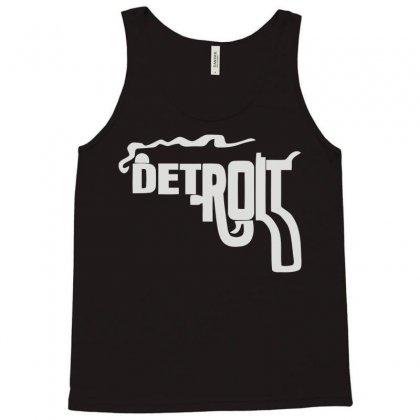 Detroit City Smoking Gun Tank Top Designed By Mdk Art