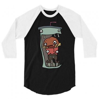Delicious Aqua Teens 3/4 Sleeve Shirt Designed By Mdk Art