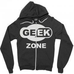 geek zone Zipper Hoodie | Artistshot