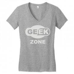 geek zone Women's V-Neck T-Shirt | Artistshot