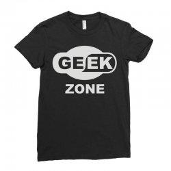 geek zone Ladies Fitted T-Shirt | Artistshot