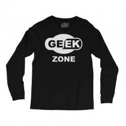 geek zone Long Sleeve Shirts | Artistshot