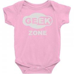 geek zone Baby Bodysuit | Artistshot