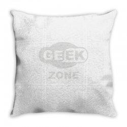 geek zone Throw Pillow | Artistshot