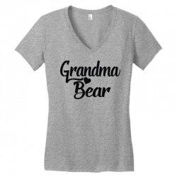 5c0d187e Grandma Bear Women's V-neck T-shirt. By Artistshot