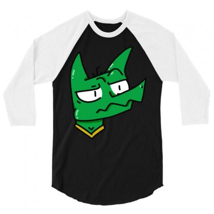 Hi 3/4 Sleeve Shirt Designed By Mdk Art