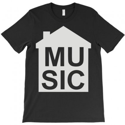 House Music T-shirt Designed By Mdk Art