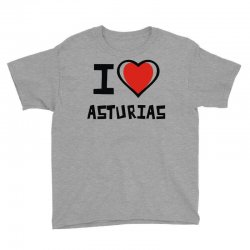 i love asturias Youth Tee | Artistshot