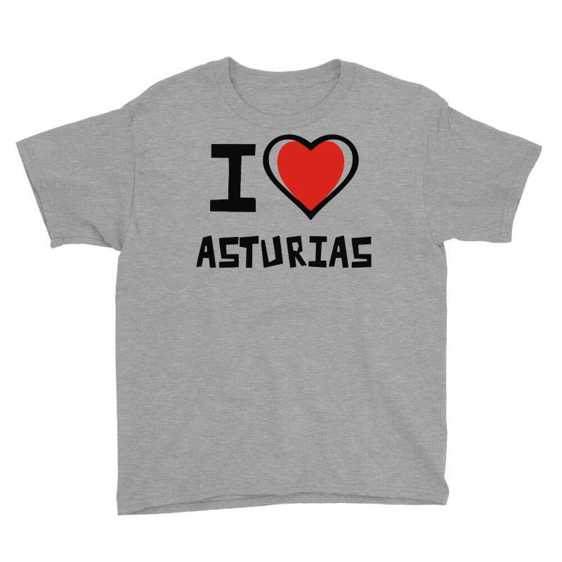 I Love Asturias Youth Tee | Artistshot