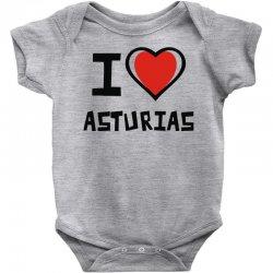 i love asturias Baby Bodysuit | Artistshot