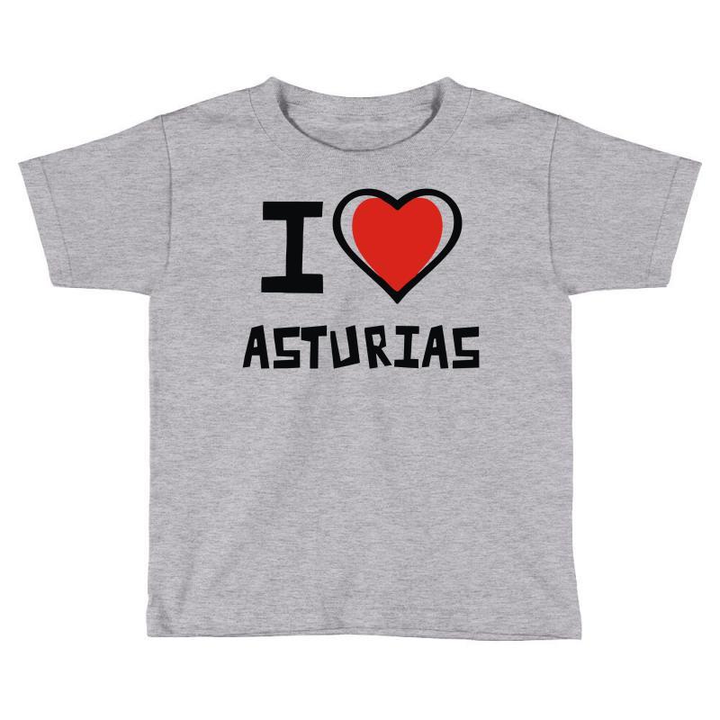 I Love Asturias Toddler T-shirt | Artistshot