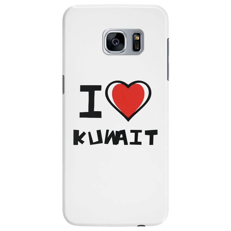 I Love Kuwait Samsung Galaxy S7 Edge Case  By Artistshot