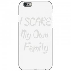 i scare my own family iPhone 6/6s Case | Artistshot