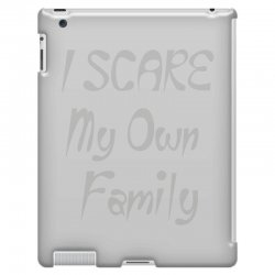 i scare my own family iPad 3 and 4 Case | Artistshot