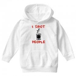 170557da i shot people bartender Youth Hoodie. i shot people bartender Toddler T- shirt | Artistshot