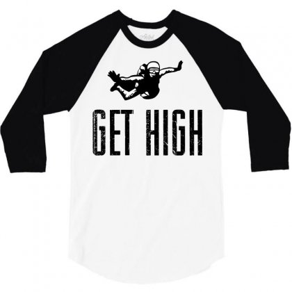 Get High 3/4 Sleeve Shirt Designed By Sbm052017