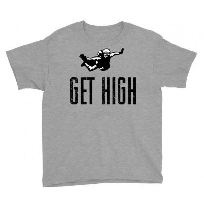 Get High Youth Tee Designed By Sbm052017