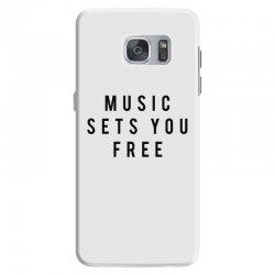 music sets you free Samsung Galaxy S7 Case | Artistshot