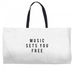 music sets you free Weekender Totes | Artistshot