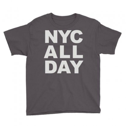 Nyc All Day Youth Tee Designed By Mdk Art