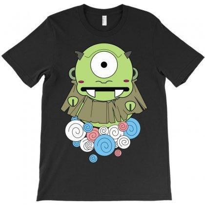One Eyes Monster T-shirt Designed By Mdk Art