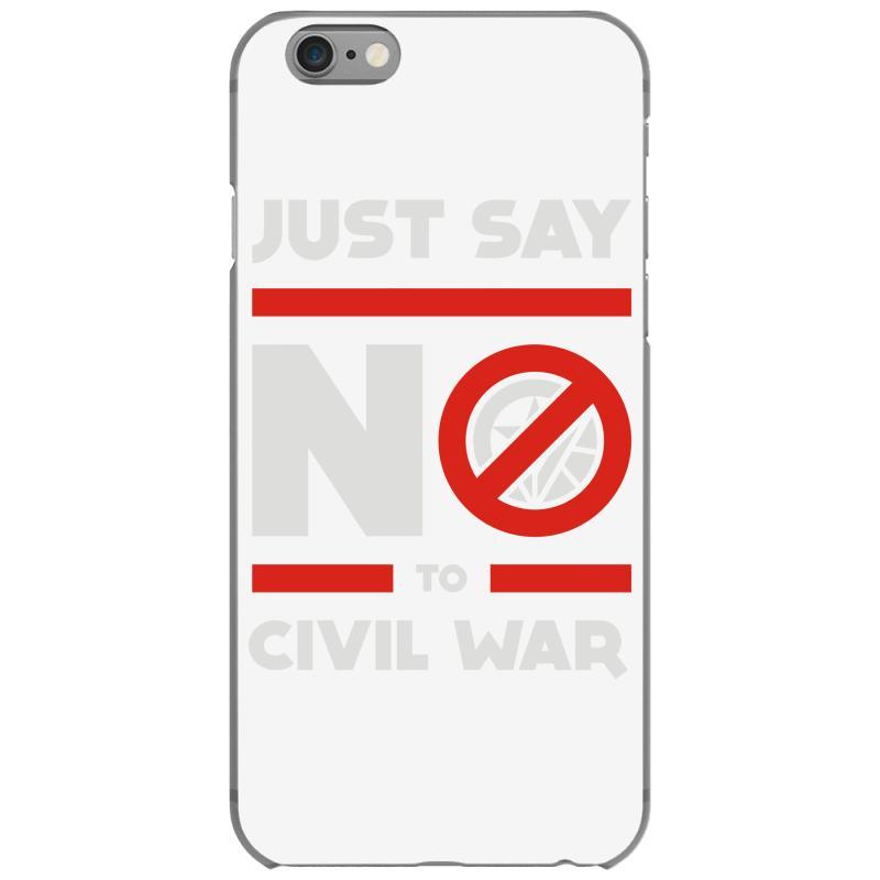 d064672ad6 Custom Say No To Civil War Iphone 6/6s Case By Mdk Art - Artistshot